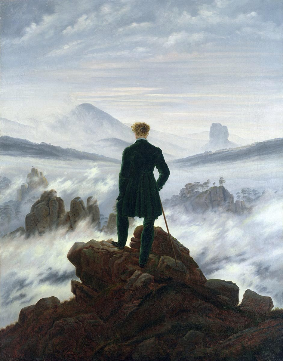 Storytelling with Casper David Friedrich, the famous Romantic painter