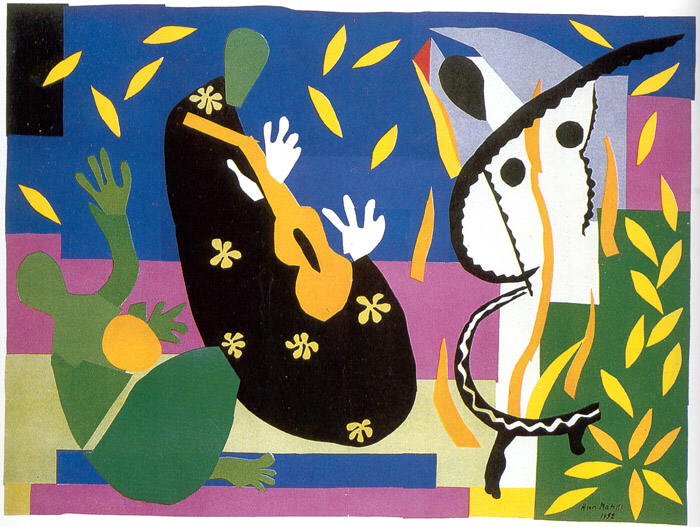The  KThe King's Sadness, Matisse.1952