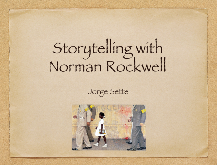 Storytelling with Norman Rockwell
