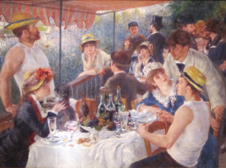 Image-The Luncheon of the Boating Party by Renoir, Pierre-Auguste1