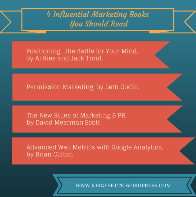 4 Influential Marketing Books You Should Read