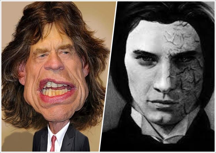 Mick Jagger is Dorian Gray