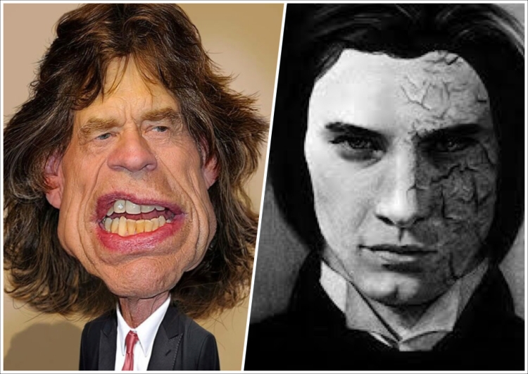 Mick Jagger is Dorian Gray
