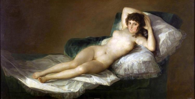 The Nude Maja, 1799-1800, Goya.