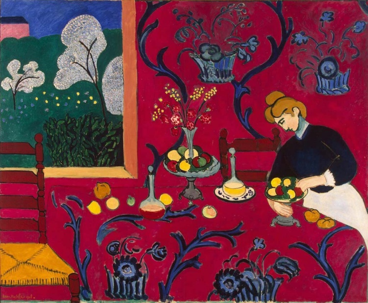 Harmony in Red by Matisse, Henri