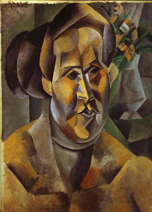 Portrait of Fernarde by Picasso, Pablo. 1909
