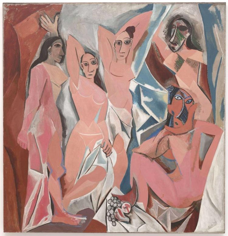 Les Demoiselles d'Avignon. 1907