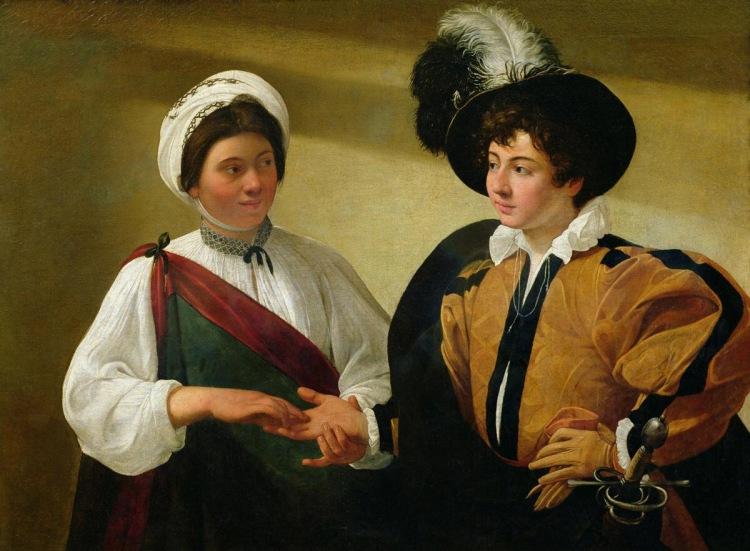 Caravaggio's The Fortune Teller