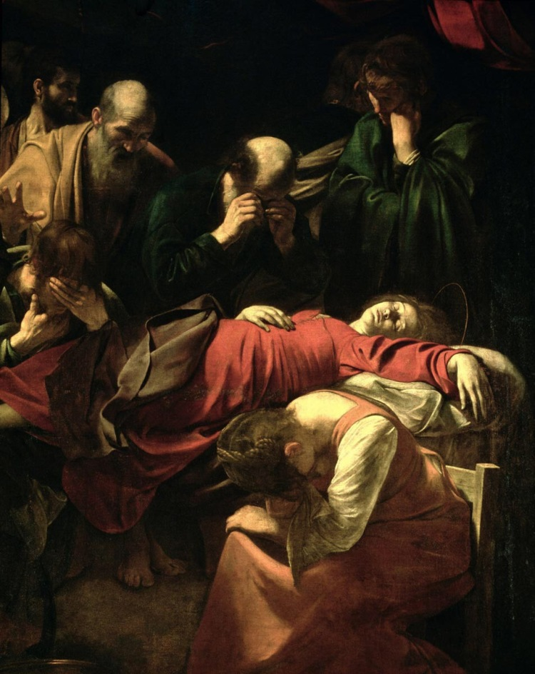 The Death of the Virgin (detail)