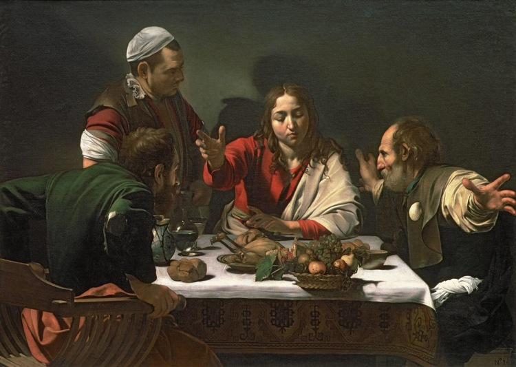 The Supper at Emmaus (1606)