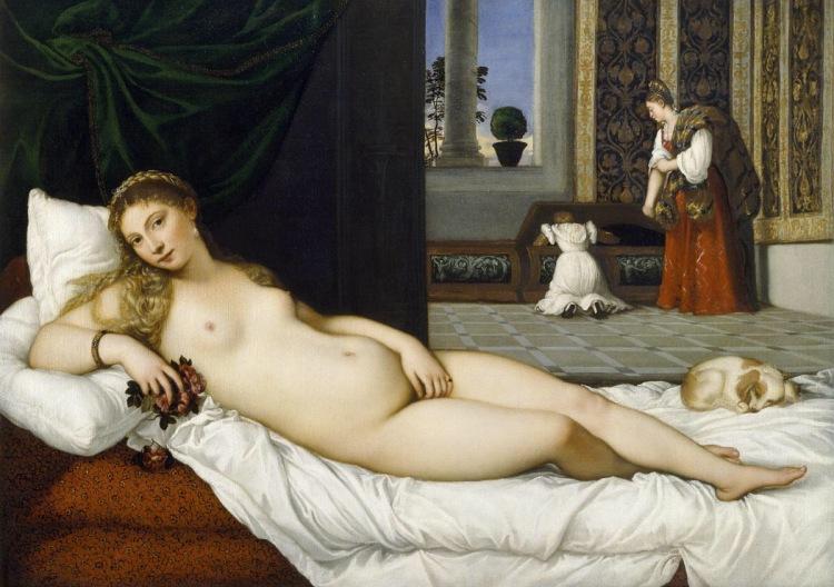 The Venus of Urbino, by Titian, 1538