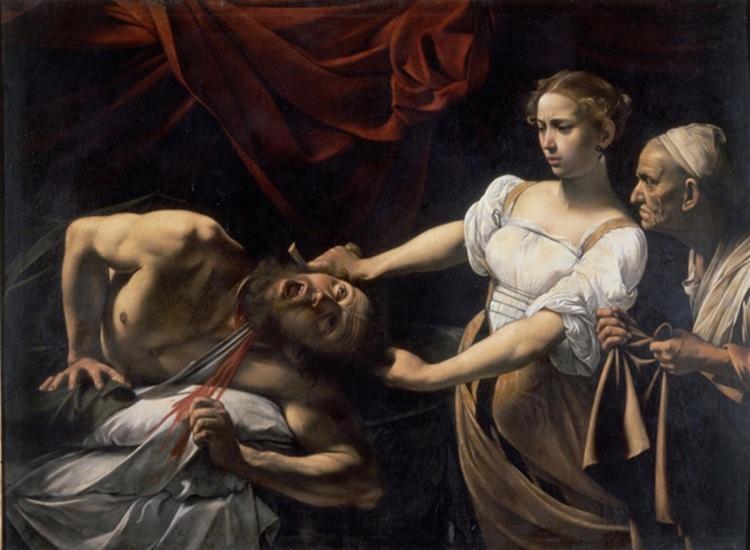 Judith beheading Holofernes, 1598/99