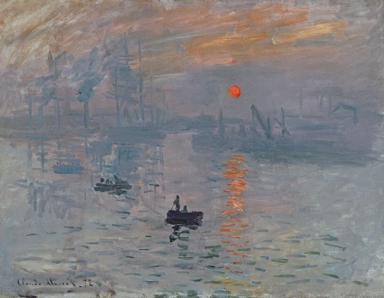 Impression, Sunrise, 1876.