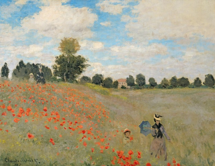 Poppies at Argenteuil. 1873