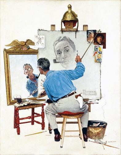 Triple Self-Portrait, 1960.