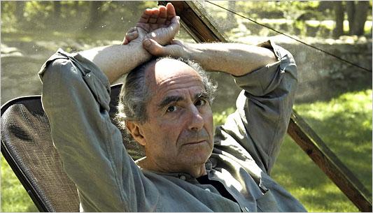 Author Philip Roth