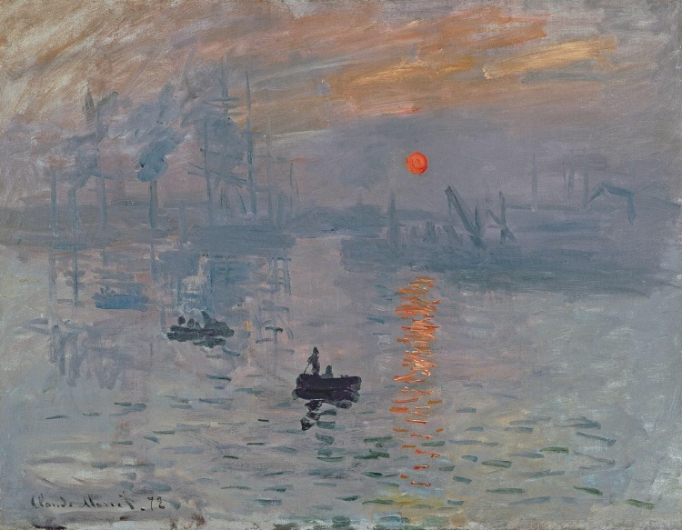 Impression, soleil levant (Impression: Sunrise) by Monet, Claude. 1872