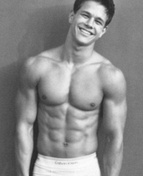 Mark Wahlberg in CK underwear.
