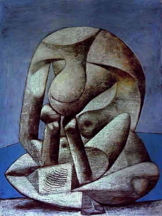 Young Girl Reading a Book on the Beach, by Picasso.