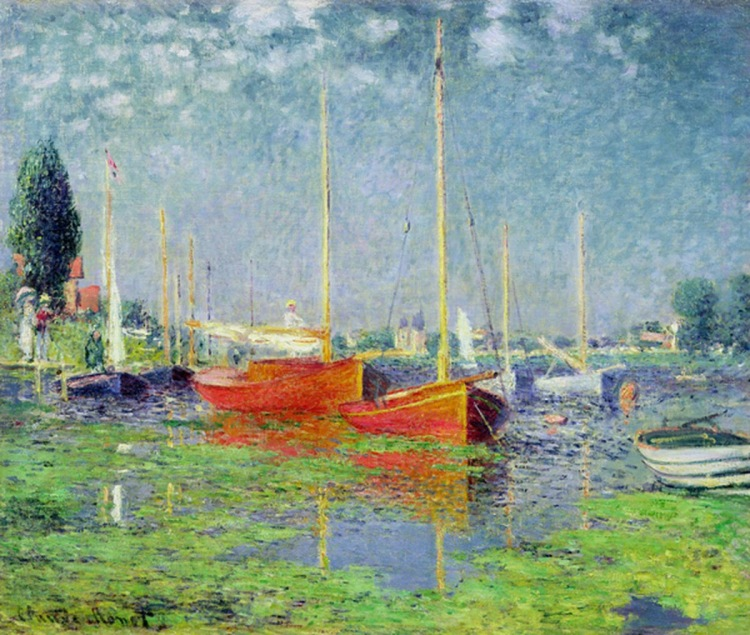 Argenteuil, c. 1872-1875, by Monet.